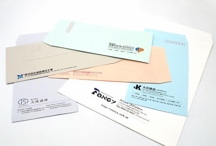 長3・角2封筒デザイン・印刷制作例